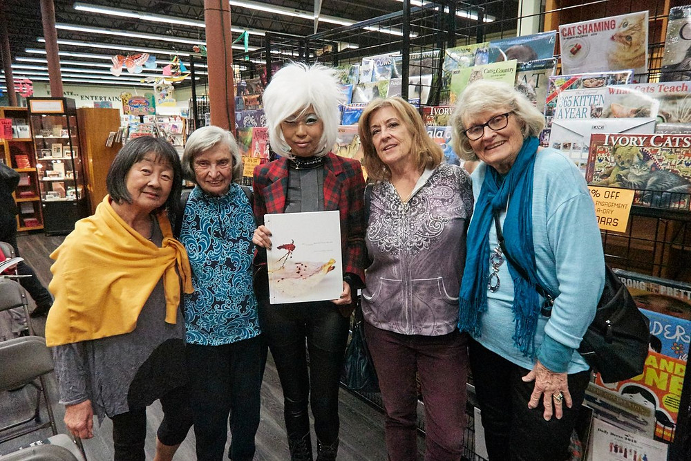 Judy Choi Las Vegas Tigrefou Phoenix Brown Writer Denver Francis George Photographer Book Signing at Vromans in Pasadena California