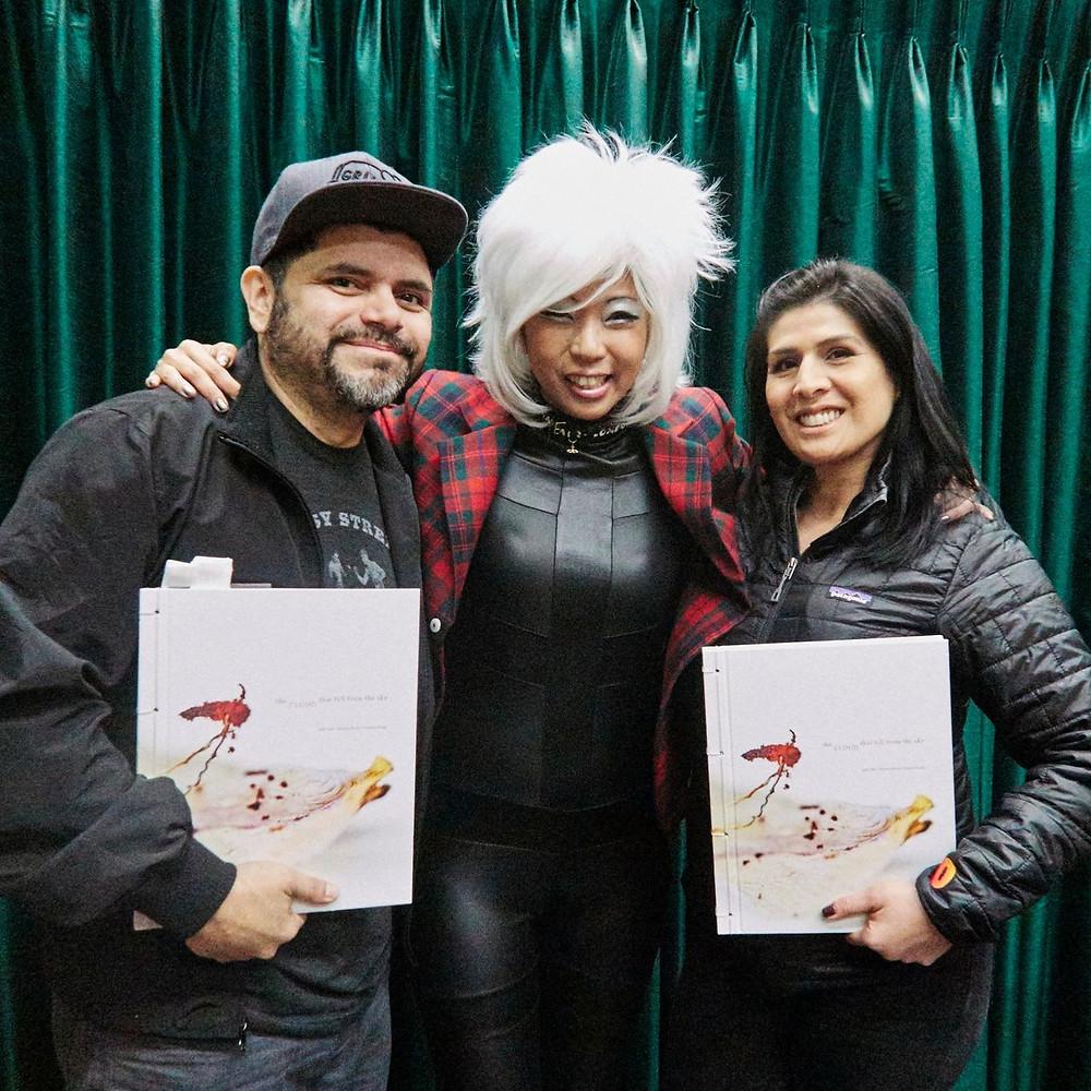 Judy Choi Las Vegas Tigrefou Phoenix Brown Writer Denver Francis George Photographer Book Signing at Vromans in Pasadena California Carlos Baruch