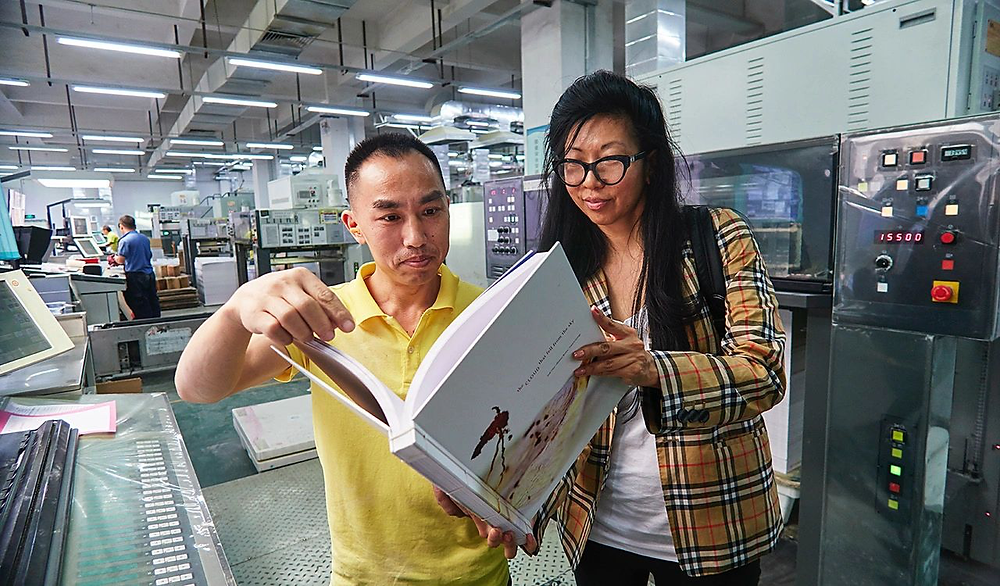 Judy Choi Francis George Tigrefou Editions Publisher Printer Clouds Visiting Shenzhen China Book Tour Launch