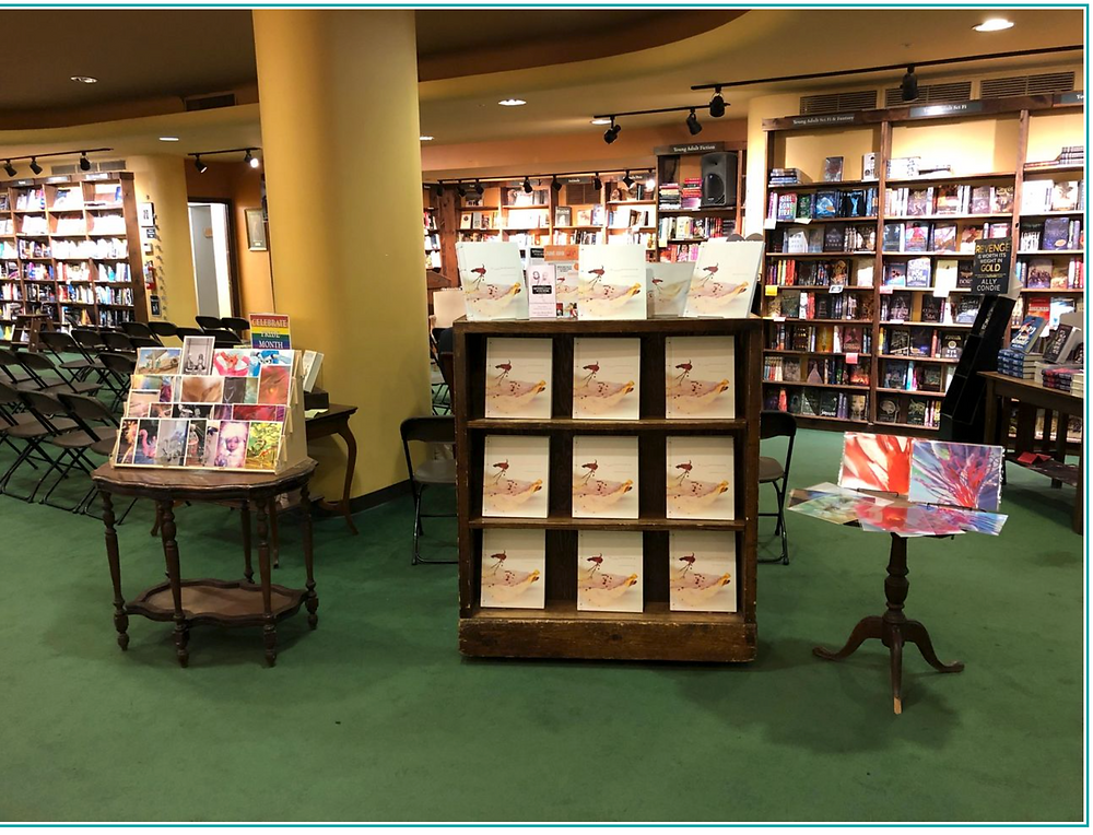 Tattered Cover Denver Colorado debuts Tigrefou Editions art cards of Judy Choi Club Kid Writer Poet French photographer award winning Francis George Book Signing
