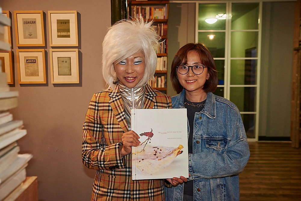 Judy Choi Francis George Book Launch Shenzhen China Book Signing Writer French Photographer