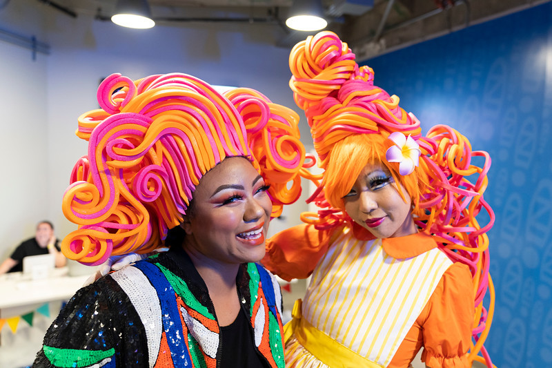 Toshie McSwain Wig Craft Vegas Judy Choi Tigrefou Editions Werq Drag Queen Event at Zappos