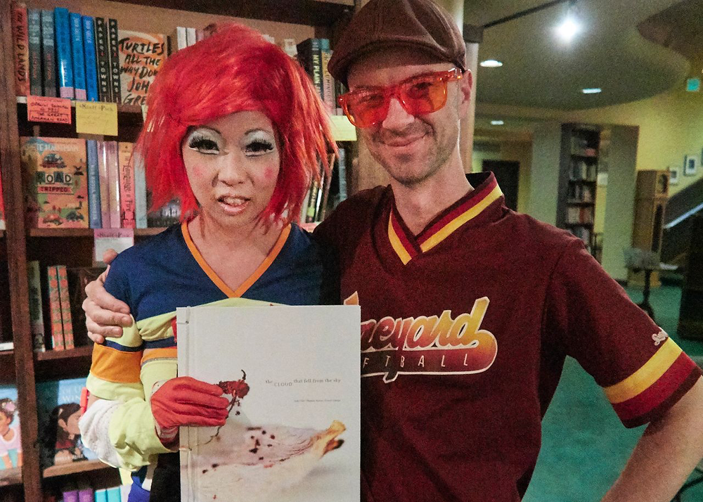 Judy Choi Francis George Phoenix Brown Daron Mueller Tattered Cover Book Signing Photography Writer Poet Denver Colorado Club Kid Sugartwist Kids George Peele