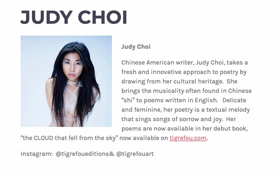 Judy Choi of Tigrefou Editions featured in BFly Los Angeles Karol Pabon