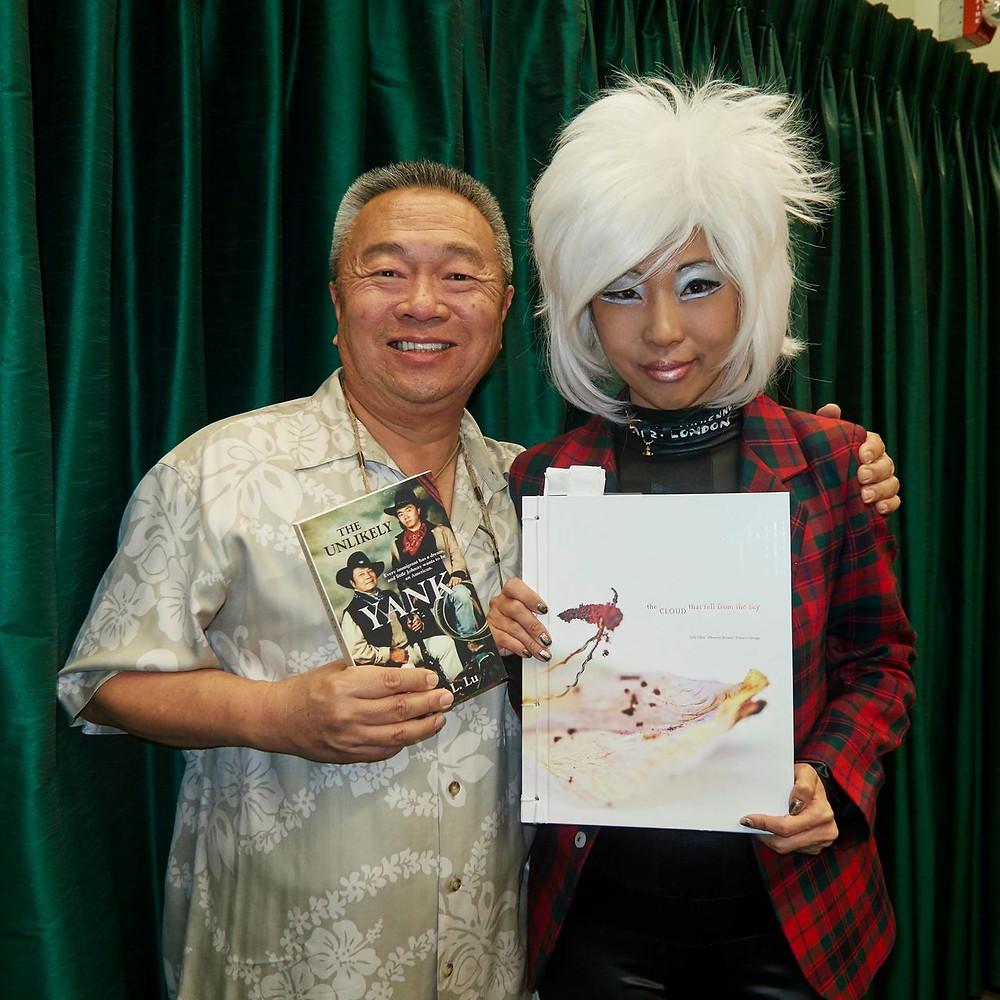 Judy Choi Las Vegas Tigrefou Phoenix Brown Writer Denver Francis George Photographer Book Signing at Vromans in Pasadena California John Lu Unlikely Yank