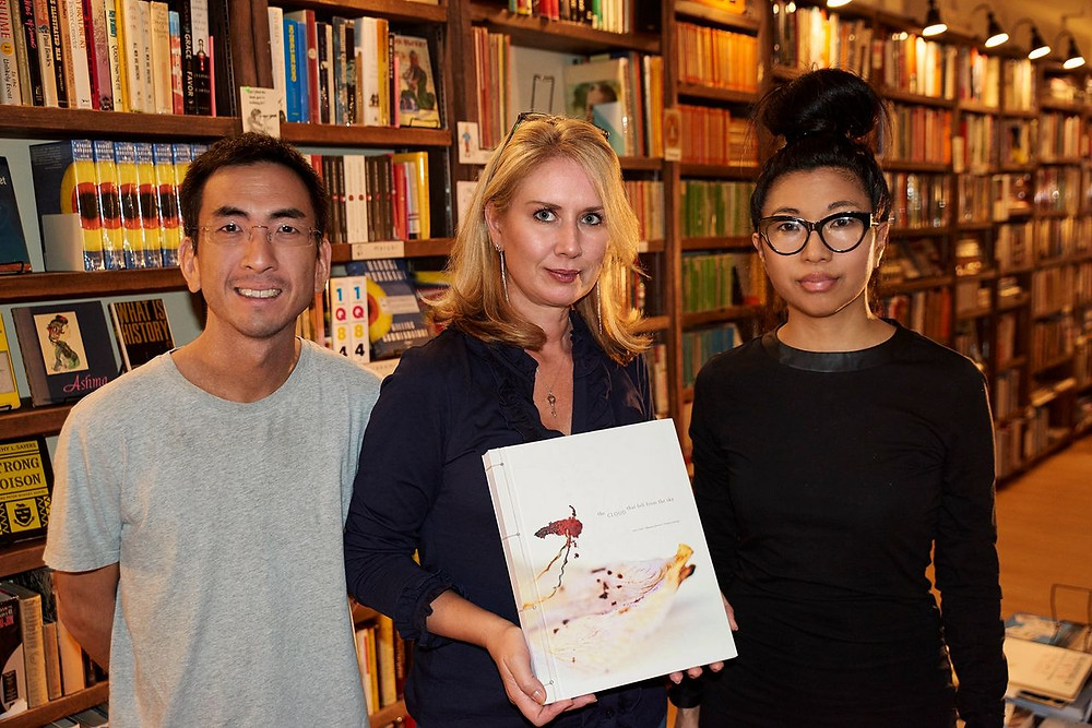Judy Choi Francis George Bleak House Books for Hong Kong Book Signing Tigrefou Editions Writer French Photographer