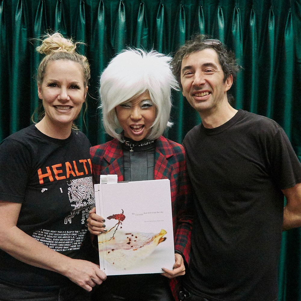 Judy Choi Las Vegas Tigrefou Phoenix Brown Writer Denver Francis George Photographer Book Signing at Vromans in Pasadena California Danielle Dazelle and DJ Koolaid