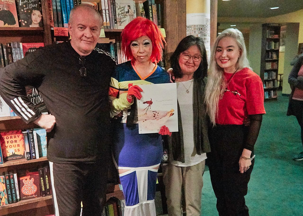 Judy Choi Francis George Phoenix Brown Daron Mueller Tattered Cover Book Signing Photography Writer Poet Denver Colorado Club Kid Sugartwist Kids Nancy Cobb