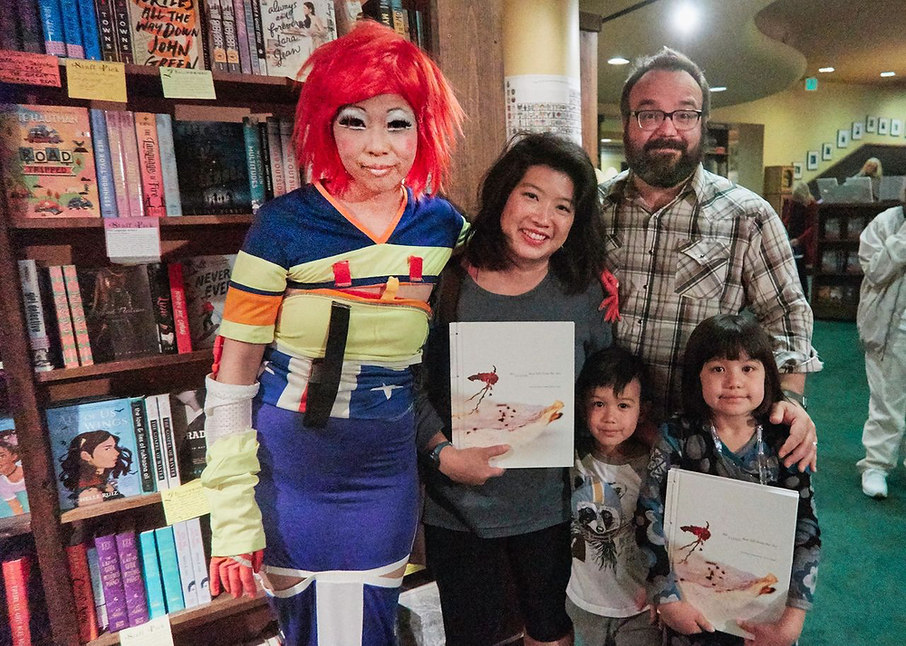 Judy Choi Francis George Phoenix Brown Daron Mueller Tattered Cover Book Signing Photography Writer Poet Denver Colorado Club Kid Sugartwist Kids Wendy Hui Josh Coast