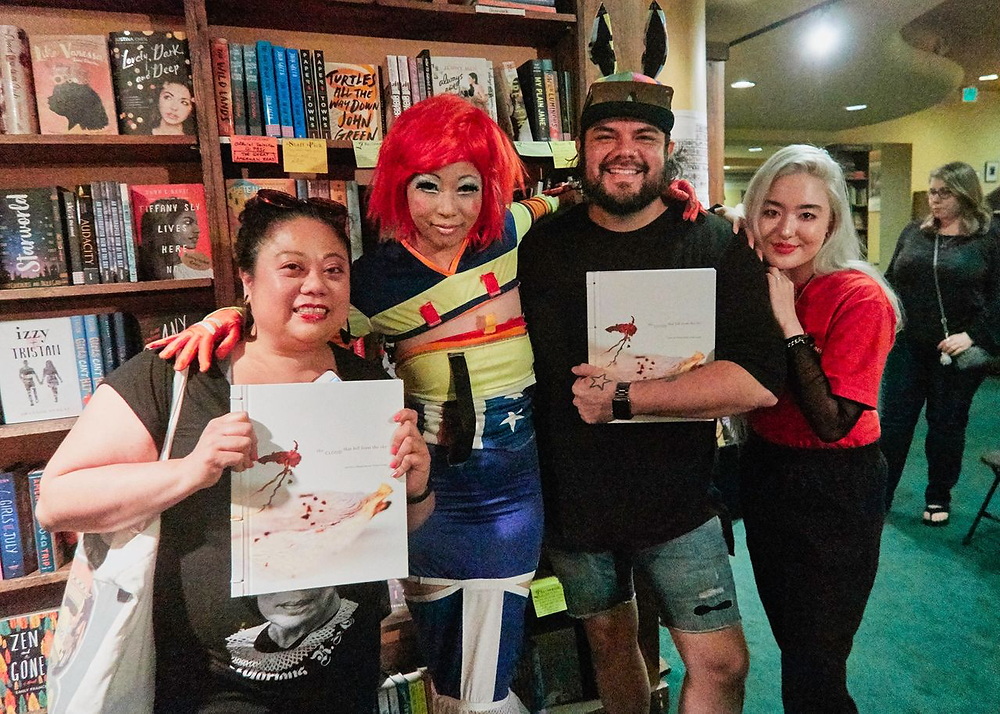 Judy Choi Francis George Phoenix Brown Daron Mueller Tattered Cover Book Signing Photography Writer Poet Denver Colorado Club Kid Sugartwist Kids Ramon Corro Maria Deligosa