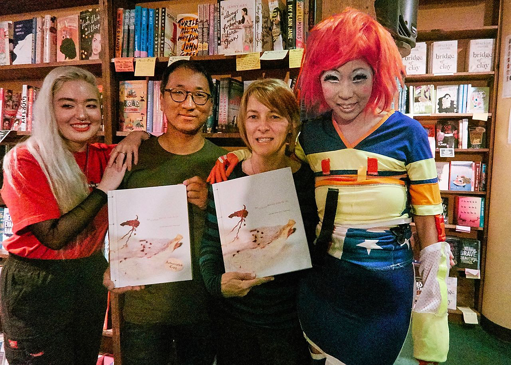 Johnny Poon Lau and Choi PC Judy Choi Francis George Phoenix Brown Daron Mueller Tattered Cover Book Signing Photography Writer Poet Denver Colorado