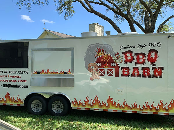 BBQ Barn Food Trailer
