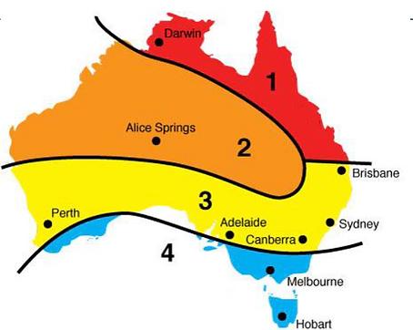 STC zones Australia