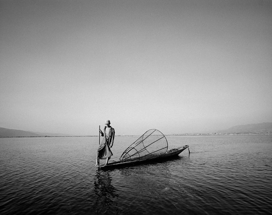 Boatman, Myanmar