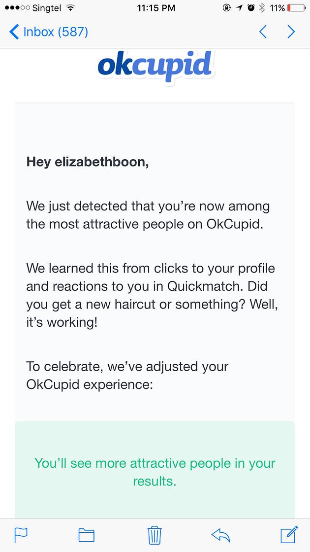 How Okcupid Is Like For Singaporean Girls Elizabeth Boon