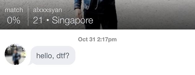 singapore online hook up hvornår kan jeg begynde at danse mitsuru