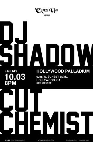 CUT CHEMIST + DJ SHADOW (W)