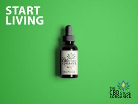 The CBD Store & Organics START LIVING Campaign