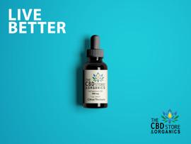 The CBD Store & Organics LIVE BETTER Campaign