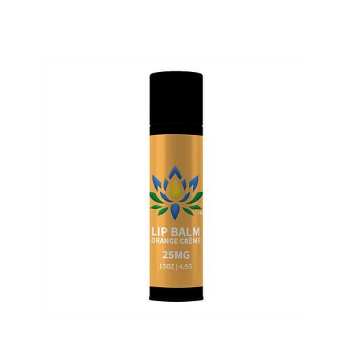 Lotus Lip Balm-Orange Crème 25