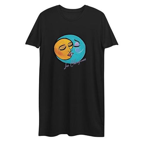 Las Chingonas Organic cotton t-shirt dress