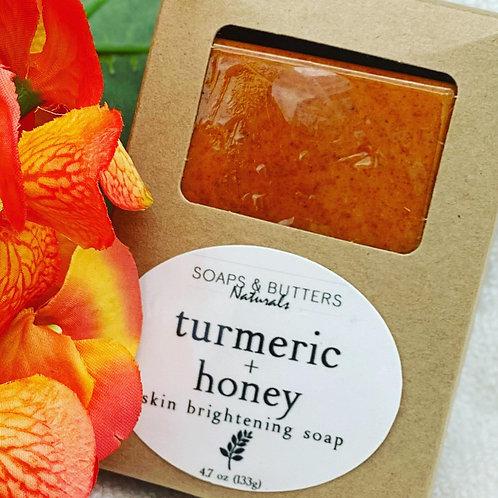 Turmeric & Honey Acne Face/Body Soap