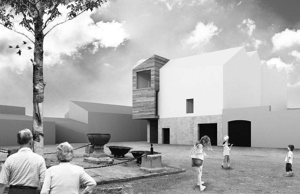 aabb-studio, aabb studio, Architecture, Juan José Barrios Avalos, Daniel Valdés Vigil, Centro de interpretacion, Ávila España