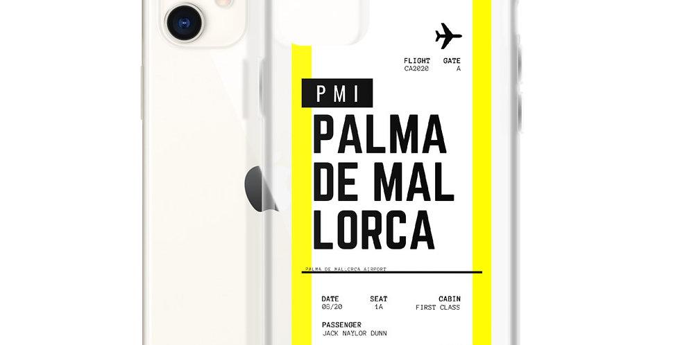 Palma De Mallorca Boarding Pass iPhone Case