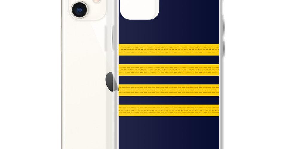 Pilot Epaulettes (captain) iPhone Case