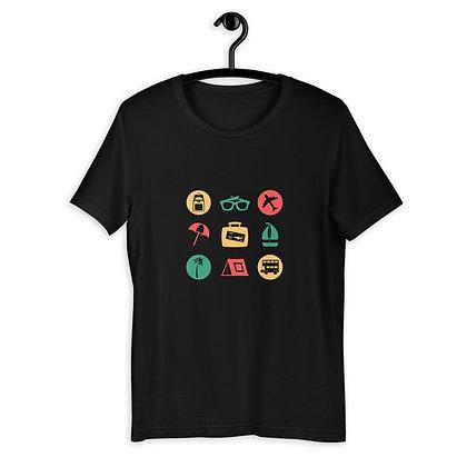 Holiday Icons Short-Sleeve Unisex T-Shirt