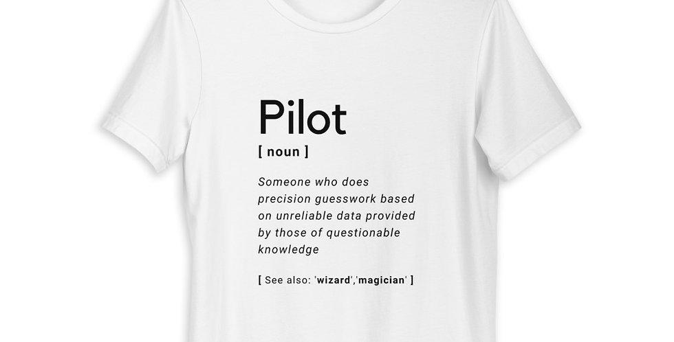 'Pilot' Definition Short-Sleeve Unisex T-Shirt