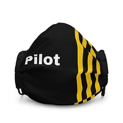 Pilot Epaulettes 3 Face mask