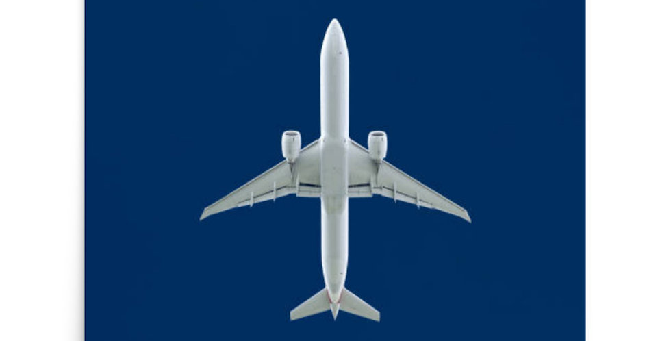 Aircraft From Below Poster