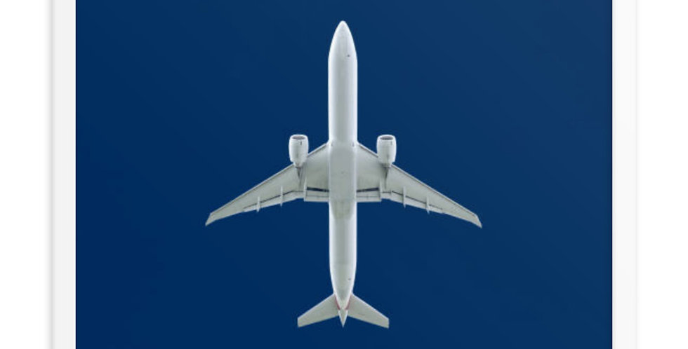 Aircraft From Below Framed poster