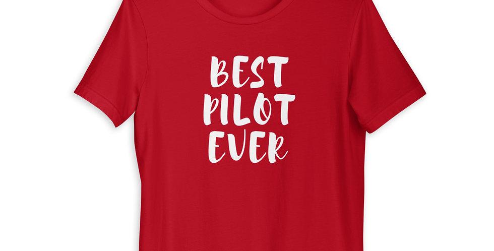 Best Pilot Ever Short-Sleeve Unisex T-Shirt