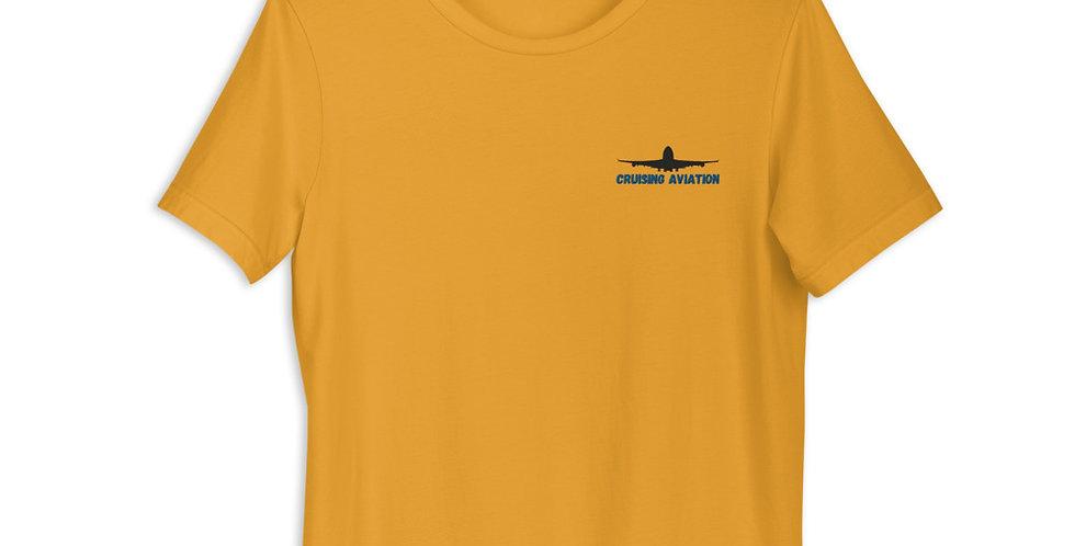 Embroidered Logo Short-Sleeve Unisex T-Shirt