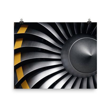 Aircraft Engine Poster #1