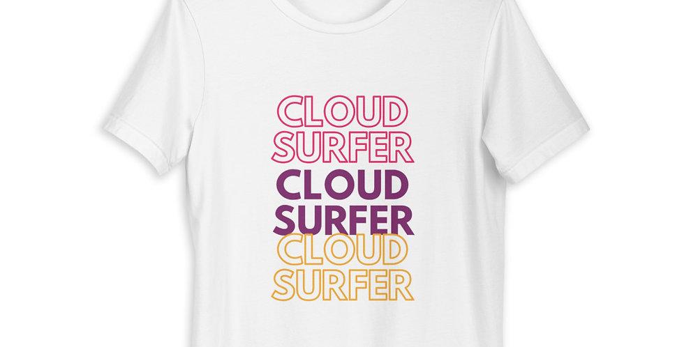 Cloud Surfer Short-Sleeve Unisex T-Shirt