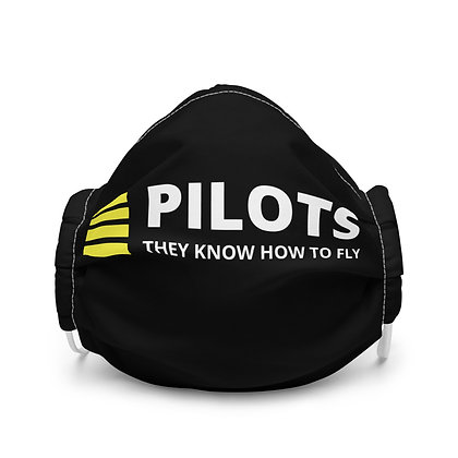 PILOTS they know how to fly Face mask