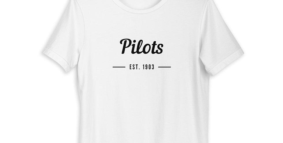 Pilots est. 1903 Short-Sleeve Unisex T-Shirt