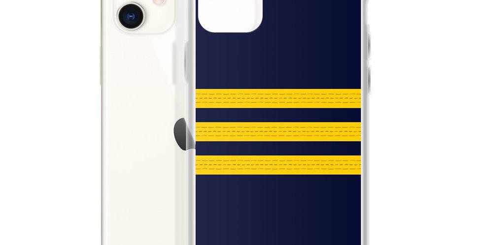 Pilot Epaulettes (Senior First Officer) iPhone Case
