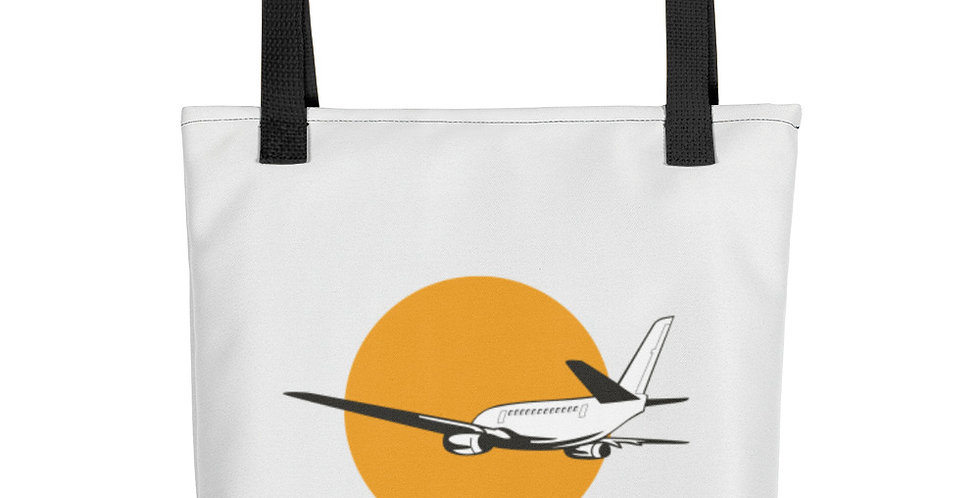 Jetting Off Tote bag