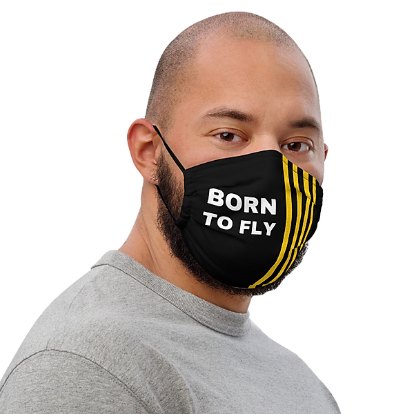 Born To Fly Face Mask