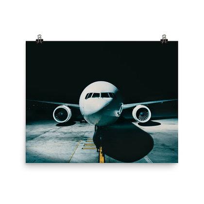 Aircraft at Gate Poster
