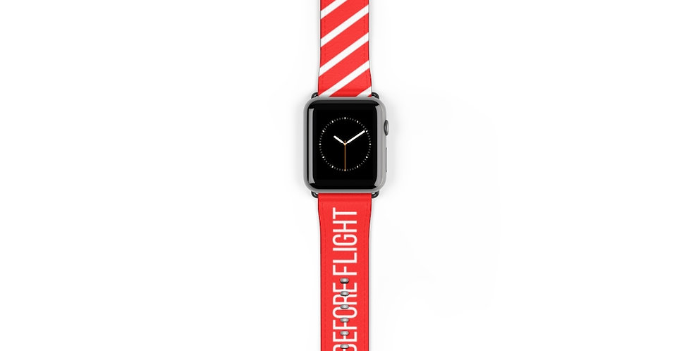 REMOVE BEFORE FLIGHT Watch Band
