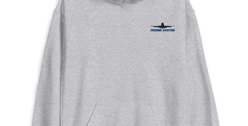 Embroidered Logo Unisex Hoodie