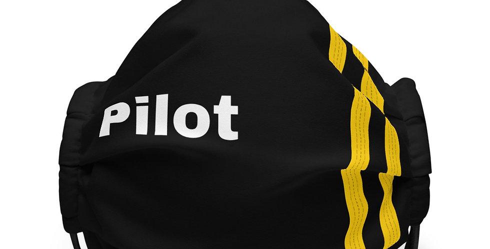 Pilot Epaulettes 2 Face mask