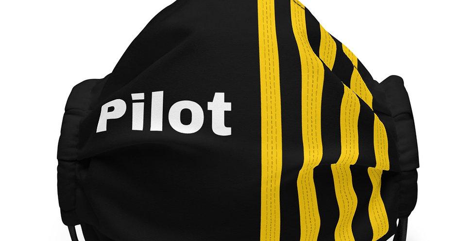 Pilot Epaulettes 4 Face mask