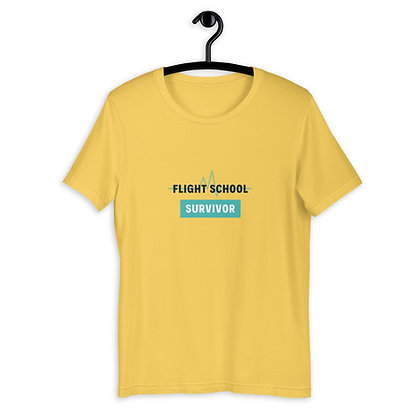 Flight School Survivor Short-Sleeve Unisex T-Shirt