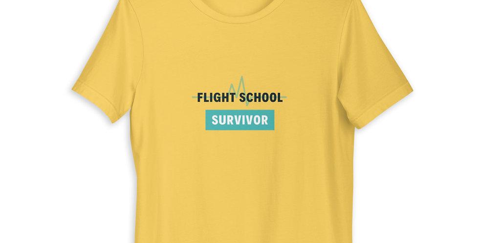 Flight School Survivor Short-Sleeve Unisex T-Shirt